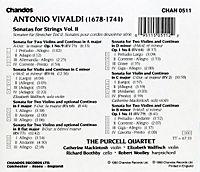 Sonatas Für Streicher Vol.2 - Produktdetailbild 1