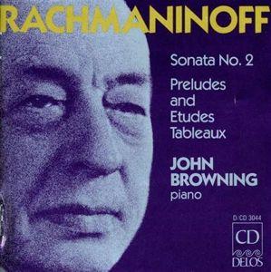 Sonate 2/Preludes Op.23+32/+, John Browning
