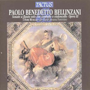 Sonate A Flauto Solo Op. 3, Giovanna Fiorentino