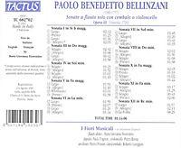 Sonate A Flauto Solo Op. 3 - Produktdetailbild 1