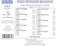 Sonate A Flauto Solo Op.3 - Produktdetailbild 1