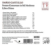 Sonate Concertate In Stil Moderno-Libro Primo - Produktdetailbild 1