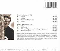 Sonate D 958 / Sonate D 959 - Produktdetailbild 1