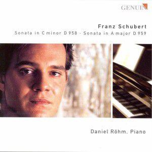 Sonate D 958 / Sonate D 959, Daniel Röhm