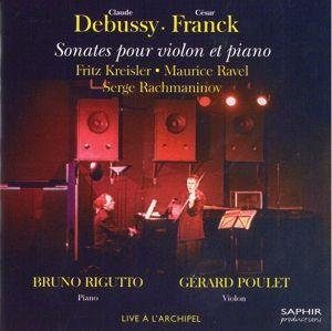 Sonate für Violine und Klavier, Gerard Poulet, Bruno Rigutto