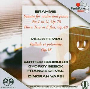 Sonate Für Violine Und Klavier, Grumiaux, Sebok, Orval