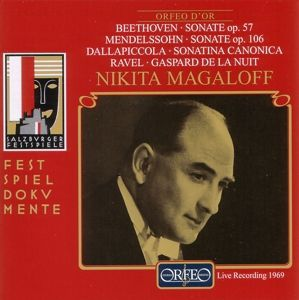 Sonate Op.57/Sonate Op.106/Sonatine Canonica/+, Nikita Magaloff