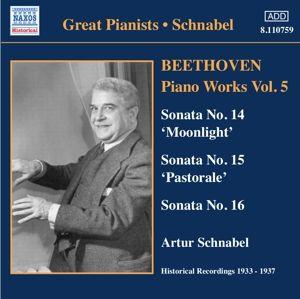Sonaten 14-16, Artur Schnabel