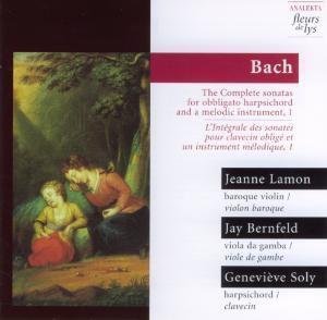 Sonaten Bwv 1017,1019,1029 V.1, Lamon, Bernfeld, Soly