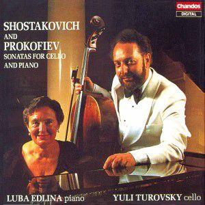 Sonaten F.cello U.klavier, Turovsky, Edlina