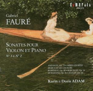 Sonaten F.violine U.klavier, Karin Adam, Doris Adam