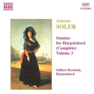 Sonaten für Cembalo Vol. 3, Gilbert Rowland