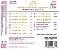 Sonaten für Cembalo Vol. 3 - Produktdetailbild 1