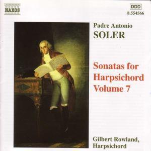 Sonaten für Cembalo Vol. 7, Gilbert Rowland