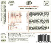 Sonaten für Cembalo Vol. 7 - Produktdetailbild 1