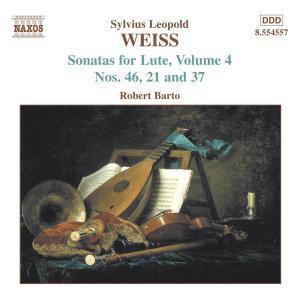 Sonaten Für Laute Vol.4, Robert Barto