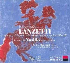 Sonaten für Violoncello Op. 1, Nasillo, Marchiol, Benici