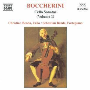 Sonaten für Violoncello Vol. 1, Christian Benda, Sebastian Benda