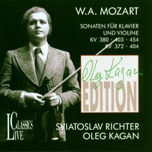 Sonaten Kv 372/380/403/404/454, Kagan, Richter