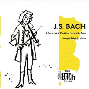 Sonaten Und Partiten Bwv 1001-1006, Joseph Szigeti