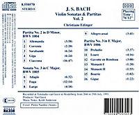 Sonaten Und Partiten Vol.2 - Produktdetailbild 1