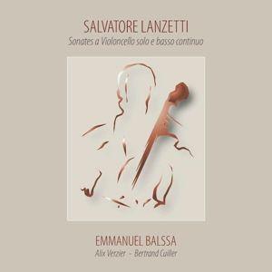Sonates a Violoncello solo e Basso, Emmanuel Balssa