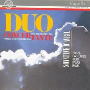 Sonatine D Avril, Duo Concertante