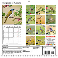 Songbirds of Australia (Wall Calendar 2019 300 × 300 mm Square) - Produktdetailbild 13