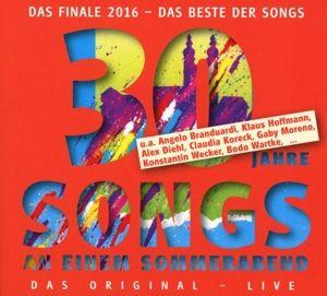Songs An Einem Sommerabend.30 Jahre, Konstantin Wecker, Angelo Branduardi, G. Moreno