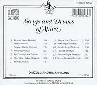 Songs And Drums Of Africa - Produktdetailbild 1