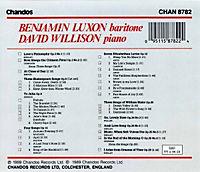 Songs F.bariton U.klavier - Produktdetailbild 1