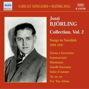Songs In Swedish 1929-1937, Jussi Björling
