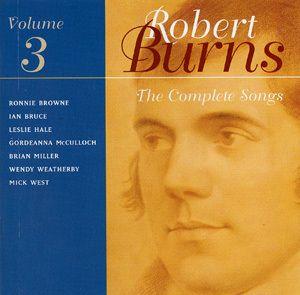 Songs Of Robert Burns Vol. 3, Robert Burns