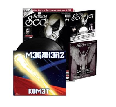 Sonic Seducer: Ausg.2018/2 Titelstory Megaherz, m. ltd. Megaherz 7'Vinylsingle (Schallplatte) + Audio-CD
