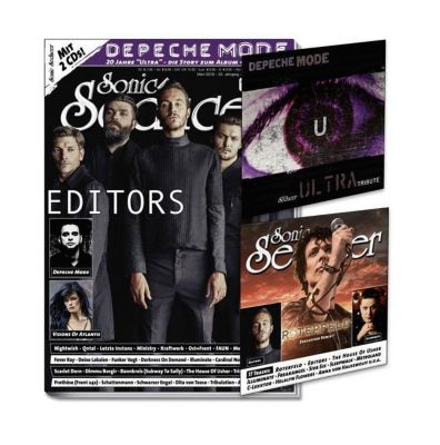 Sonic Seducer: Ausg.2018/3 Titelstory Editors, m. 2 Audio-CDs