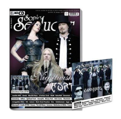 Sonic Seducer: Ausg.2018/4 Titelstory Nightwish & Auri, m. Audio-CD