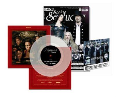 Sonic Seducer: Ausg.2018/4 Titelstory Nightwish & Auri, m. 7'' Vinylsingle (Schallplatte) + Audio-CD