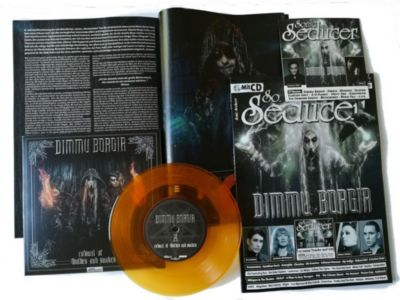 Sonic Seducer: Ausg.2018/5 Titelstory Dimmu Borgir, m. orange-transparenter 7''-Vinylsingle (Schallplatte)  + Audio-CD
