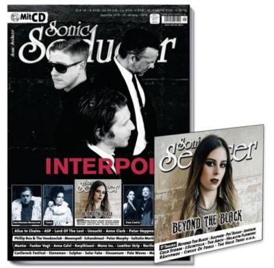 Sonic Seducer: Ausg.2018/9 Titelstory Interpol, m. Audio-CD