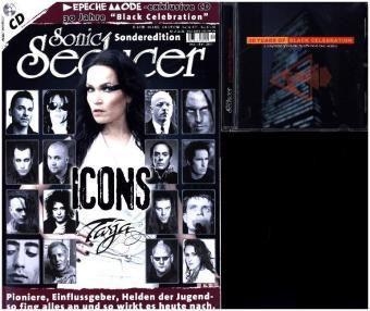Sonic Seducer, Sonderedition: Icons - die Stars der Szene und ihre Einflussgeber + Depeche Mode Tribute CD, m. Audio-CD