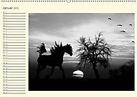 Sonne und Mond - faszinierend und anziehend (Wandkalender 2019 DIN A2 quer) - Produktdetailbild 1