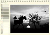 Sonne und Mond - faszinierend und anziehend (Tischkalender 2019 DIN A5 quer) - Produktdetailbild 1