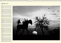 Sonne und Mond - faszinierend und anziehend (Wandkalender 2019 DIN A3 quer) - Produktdetailbild 1