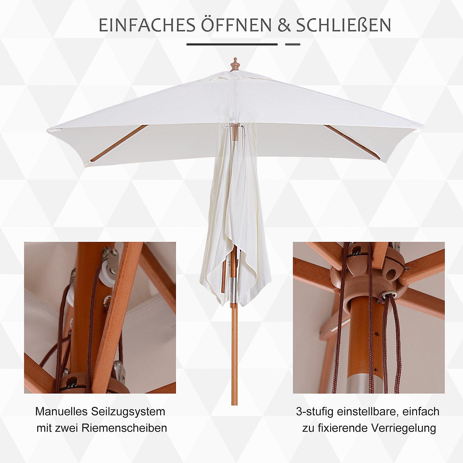 Sonnenschirm Knickbar Farbe Creme Bestellen Weltbildde