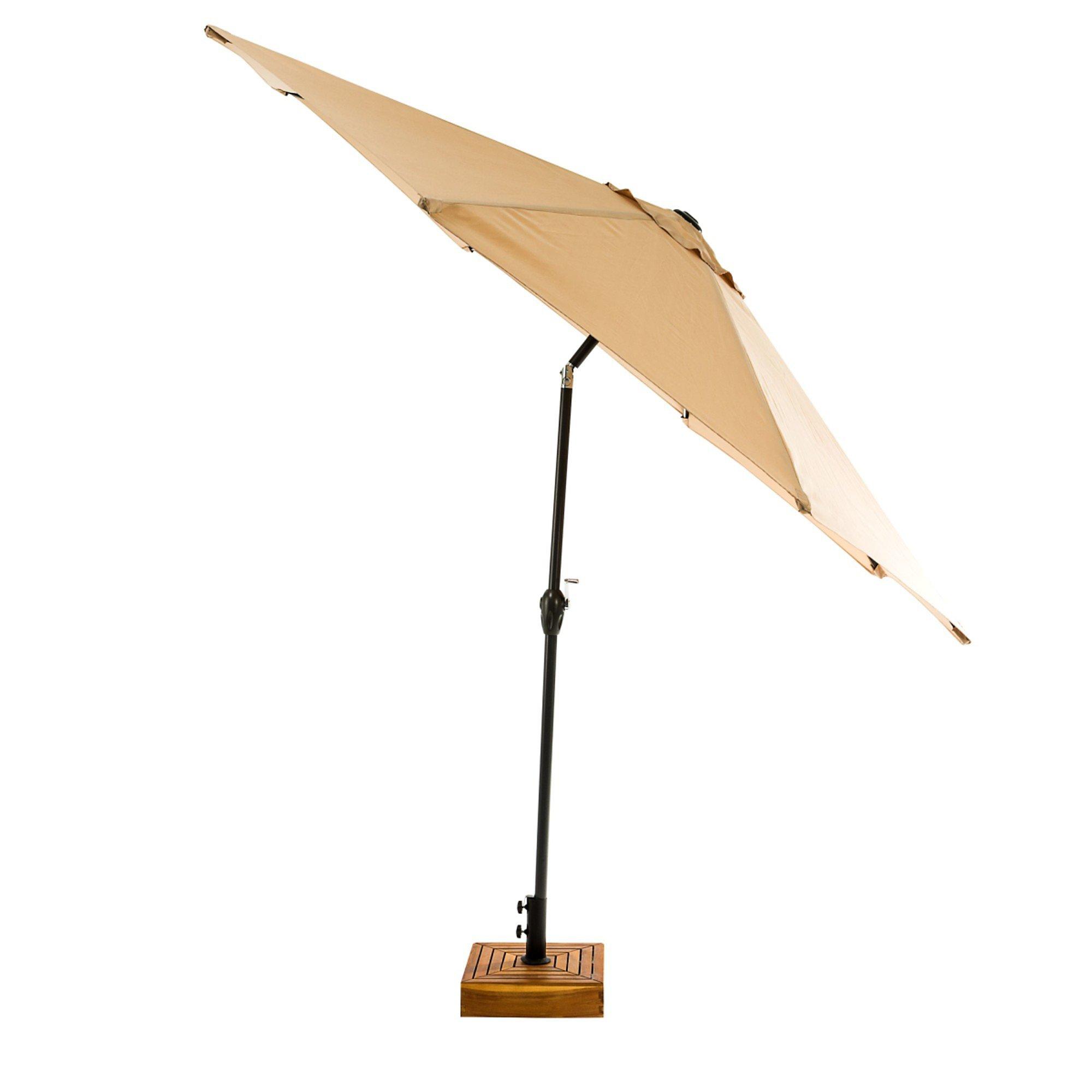 Sonnenschirm Mit Led Beleuchtung Beige Bestellen Weltbildch