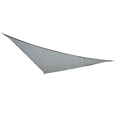 Sonnensegel als Dreieck (Farbe: grau)