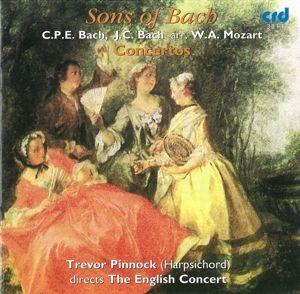 Sons Of Bach Concertos, Trevor Pinnock, English Concert