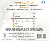 Sons Of Bach Concertos - Produktdetailbild 1
