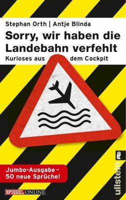'Sorry, wir haben die Landebahn verfehlt', Jumbo-Ausgabe
