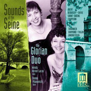 Sounds Of The Seine/Flöte+Harfe, The Glorian Duo